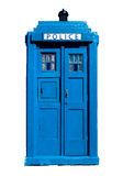 Boîte de police BRITANNIQUE traditionnelle Photos stock