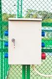 Boîte de prises électriques Images libres de droits