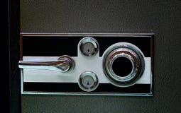 Boîte de sécurité de fer de style ancien image libre de droits