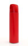 Boîte de spray anti-insectes rouge Photo stock