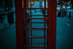Boîte de téléphone Images stock