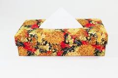 Boîte de tissu Image libre de droits