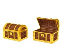 Boîte de trésor illustration de vecteur