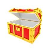 Boîte de trésor Image stock