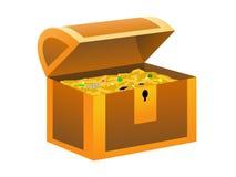Boîte de trésor Photos stock