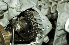 boîte de vitesses à chaînes Images stock
