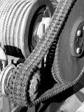 Boîte de vitesses à chaînes Photographie stock libre de droits