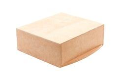 Boîte en bois Image stock