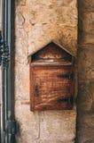 Bo?te en bois de poteau, Malte photo stock