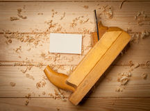 Boîte en bois pour votre emballage Photographie stock libre de droits