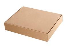 Boîte en carton Photographie stock libre de droits