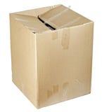 Boîte en carton Image libre de droits