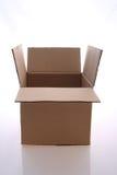 Boîte en carton Images libres de droits