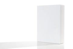 Boîte en carton de empaquetage blanc | D'isolement Images stock