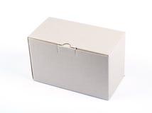 Boîte en carton fermée Photo stock