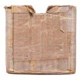 Boîte en carton grunge Photo libre de droits