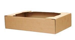 Boîte en carton ondulé Image stock