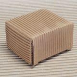 Boîte en carton ondulé Images libres de droits
