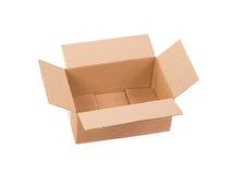Boîte en carton ondulé Photos libres de droits