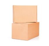 Boîte en carton ondulé Open Image libre de droits