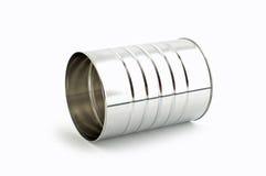 Boîte en fer blanc photographie stock