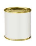 Boîte en fer blanc photographie stock libre de droits