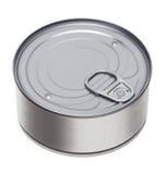 Boîte en fer blanc images stock