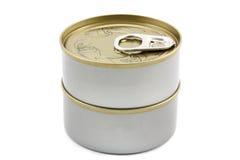 Boîte en fer blanc Image stock