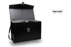 Boîte et remplaçant de kit de premiers secours pour le cas d'urgence Boîte de kit de premiers secours et médecine et AED externe  photographie stock libre de droits