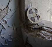 Boîte métallique de film Photos stock