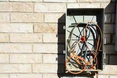 Boîte malpropre TV par câble Photos libres de droits