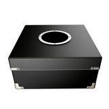 Boîte noire  Photographie stock