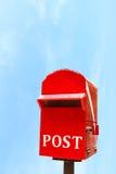 Boîte ou boîte aux lettres de courrier Image libre de droits