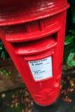 Boîte postale, la distribution finale Photo libre de droits