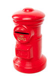 Boîte rouge de courrier de jouet Photo libre de droits