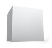Boîte vide de cube Image libre de droits