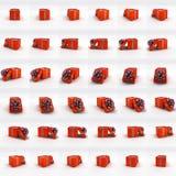 Boîtes actuelles pour l'animation 3d Images libres de droits