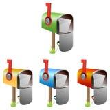 Boîtes aux lettres illustration libre de droits