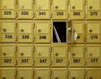 Boîtes aux lettres Photos stock