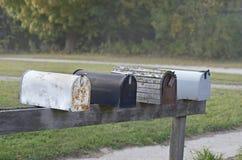 Boîtes aux lettres Photographie stock