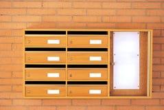 Boîtes aux lettres Photo libre de droits