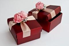 Boîtes-cadeau Images libres de droits