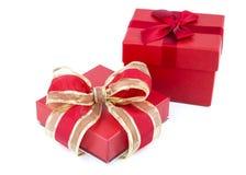 Boîtes de cadeau décorées Image stock