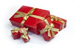 Boîtes de cadeaux image stock