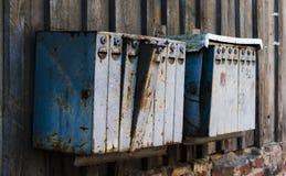 Boîtes de courrier photos libres de droits