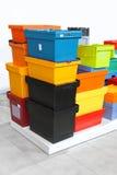 Boîtes de la livraison photographie stock libre de droits