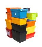 Boîtes de la livraison image stock