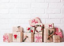 Boîtes de métier de Noël Image stock