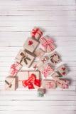 Boîtes de métier de Noël Photo libre de droits