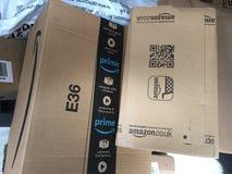 Boîtes de perfection d'Amazone images stock